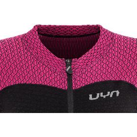 UYN Biking Alpha OW Blouse korte mouwen Dames, zwart/roze